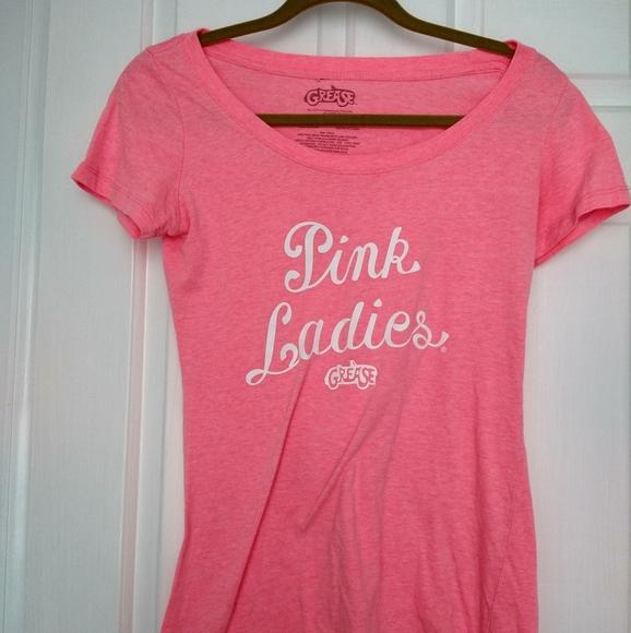 Grease logo ladies pink Grease Movie